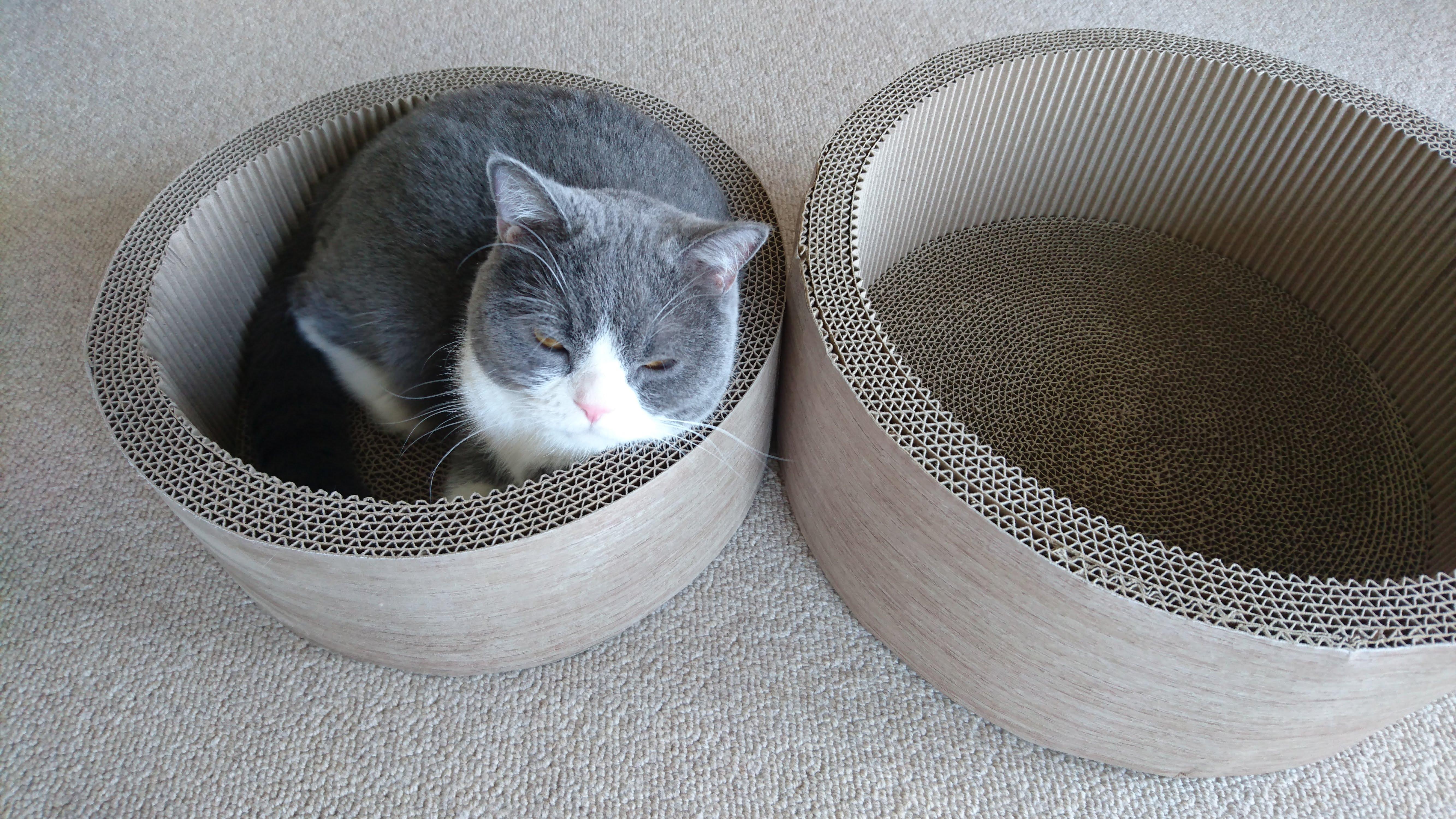 シンプル猫用爪とぎ(小)